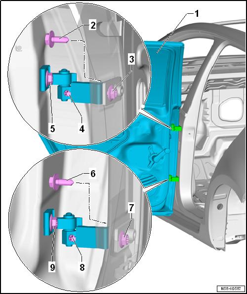 AUTO BODY Door Hinge Adjuster Aligning Alignment Tool Wrench